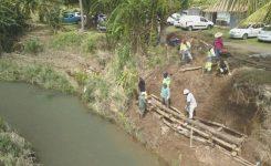 La stabilisation de berges se poursuit sur le bassin versant de la rivière de Galion.